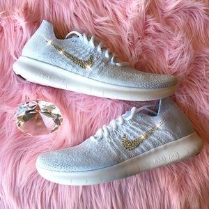 5fe8cf5bafabf Nike Shoes - Bling Nike Free RN Flyknit with Swarovski Crystals